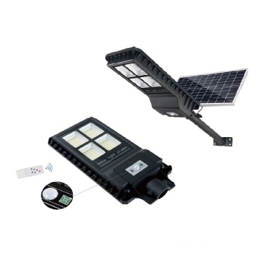 Desain Modern Waterproof All-in-one 60w Solar Road Light